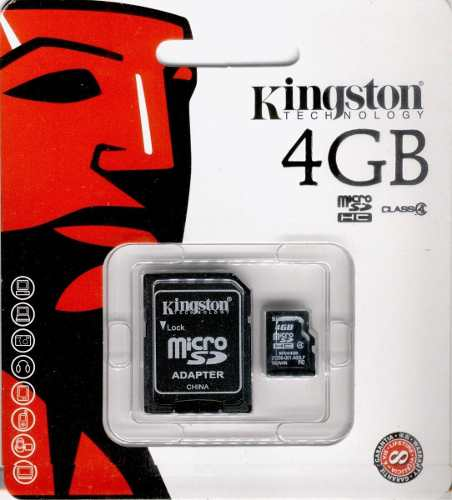 Memoria Kingston Sdc4/4gb.