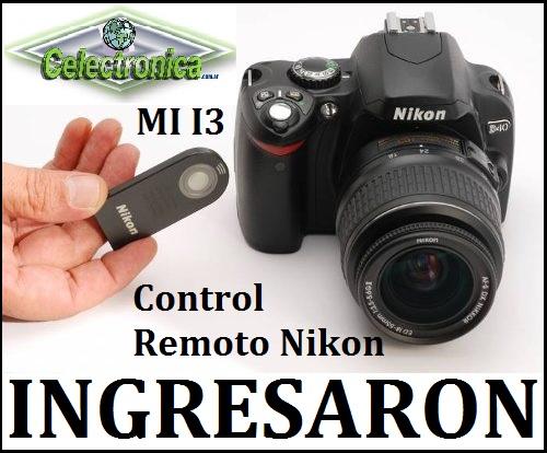 Control Remoto Disparador Nikon