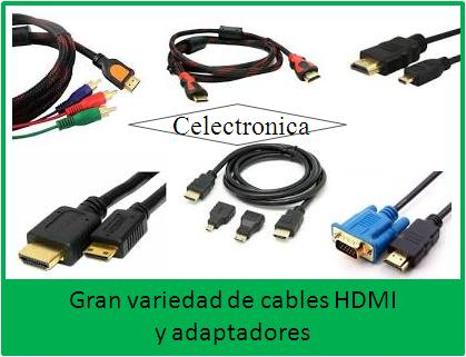 Cables Hdmi y Adaptadores
