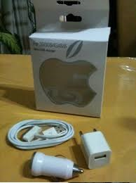 Kit Cargador Iphone  3 Y 4