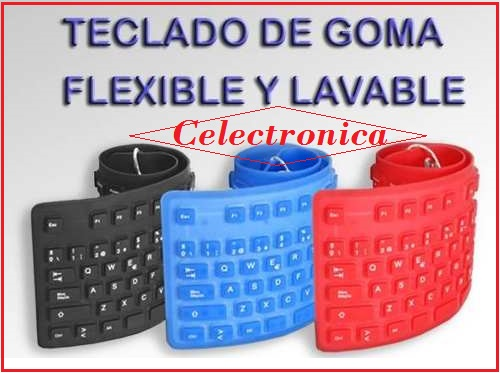 Teclado Flexible Seisa