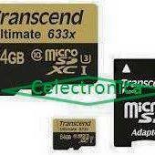 Memoria Transcend 64gb (c10)633x Sd3/xc1